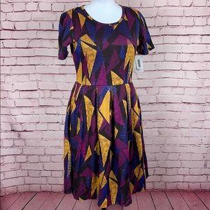 LuLaRue Dress w/ Pockets Size XL NWT